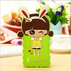 Cute Little Bush Silicone Back Case Cover For Xiaomi Mi 2