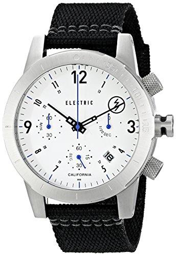 Electric Men'S Ew0020020015 Fw02 Nato Band Analog Display Japanese Quartz Black Watch