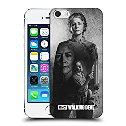 Official AMC The Walking Dead Carol Double Exposure Hard Back Case for Apple iPhone 5 / 5s / SE