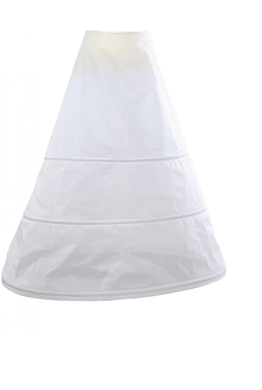 Hochzeit Reifrock Reifen Durchmesser 96 cm 3 Farben Weiß oder Elfenbei