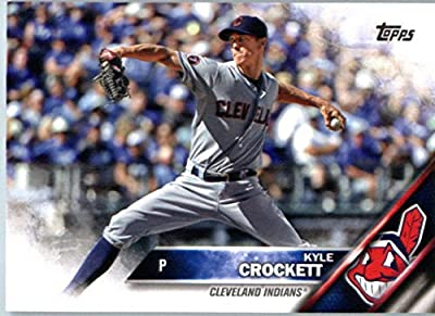 2016 Topps Series 2 #695 Kyle Crockett Cleveland Indians Baseball Card
