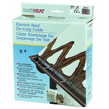 Easy Heat Inc. ADKS100 Roof De-Icing Cable