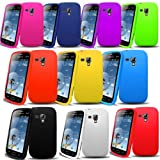 Accessory Master Silicone Cases for Samsung Galaxy Duos S7562 Multi-Coloured Pack of 10