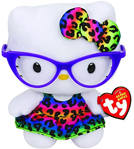 Ty Hello Kitty - Purple Glasses