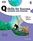 img - for Q: Skills for Success Listening and Speaking 2E Level 4 Student Book book / textbook / text book