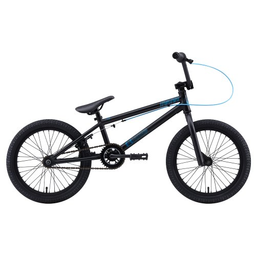 Eastern Bikes 118 Lowdown 2013 Edition BMX Bike with Black Rim (Matte Black, 18-Inch)