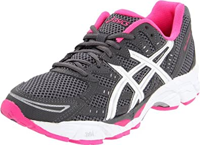 ASICS Women's Gel Phoenix 4 Running Shoe,Titanium/White/Hot Pink,5 M US