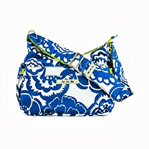 Ju-Ju-Be Hobo Be Diaper Bag, Cobalt Blossoms from Ju-Ju-Be