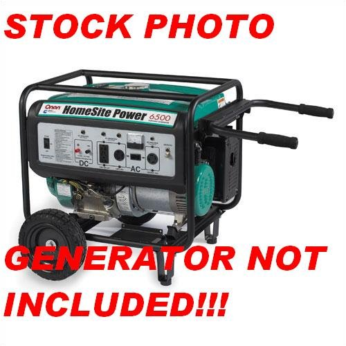 Onan Power Generators: Cummins Onan Wheel & Handle Kit For HomeSite 5500 / 6500