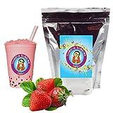 Strawberry Cream Boba/Bubble Tea Powder By Buddha Bubbles Boba 10 Ounces (283 Grams) (Tamaño: 10 Ounces (283 Grams))