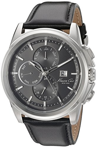 kenneth-cole-new-york-hombre-10025919-vestido-deporte-analogico-negro-reloj-de-cuarzo-japones