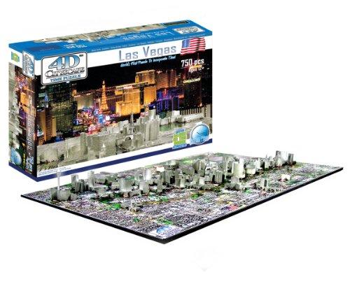 Cheap 4D Cityscape 4D Las Vegas Skyline Time Puzzle (B0041O41XI)