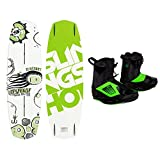 Slingshot - Response Wakeboard 142cm - w  Ronix One Boots - Mens (9) - 2014 by SlingShot