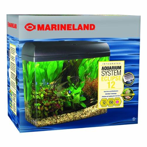 Marineland Eclipse Integrated Aquarium System, 12-Gallon ...