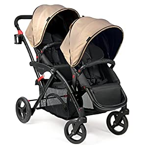 Contours Options Elite Tandem Stroller Sand