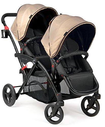 contours options elite tandem stroller sand baby shop. Black Bedroom Furniture Sets. Home Design Ideas