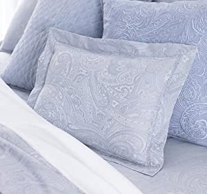 Amazon.com - Lauren Suite by Ralph Lauren Bedding, Pale Blue ...