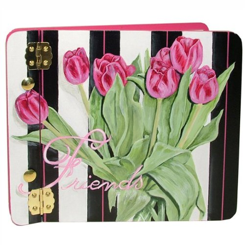 Tulips Mini Photo Album Customize: Yes