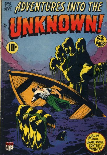 Adventures into the Unknown - 6 cover