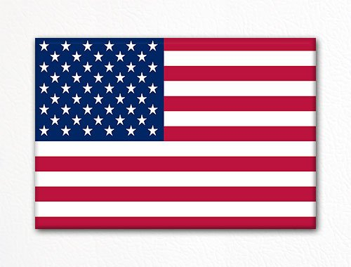 United States of America American Flag USA Fridge Magnet (American Fridge Magnet compare prices)
