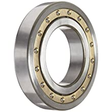 Koyo Cylindrical Roller Bearing, Removable Inner Ring, Single Row, Open, C3 Clearance, Brass/Bronze Cage, Metric