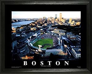 Boston Red Sox - Fenway Park - Green Monster - Lg - Framed Poster Print by Laminated Visuals