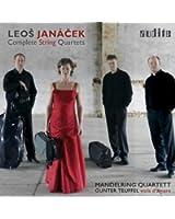 """Leo? Janá?ek: Complete String Quartets (String Quartet No. 1 """"Kreutzer Sonata"""" & String Quartet No. 2 """"Intimate Letters"""" in both Versions [Viola & Viola D'amore])"""
