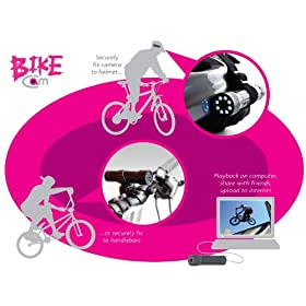 Storage Options BikeCam Videocámaras baratas Cheap camcorders