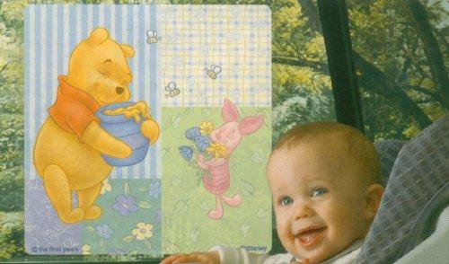 "Winnie the Pooh Car Window Sun Screen 15"" X 15"" - 1"