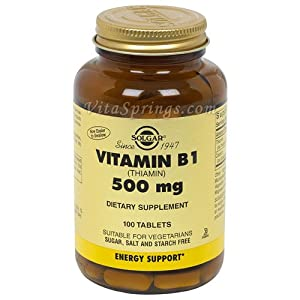 What is thiamine tablets
