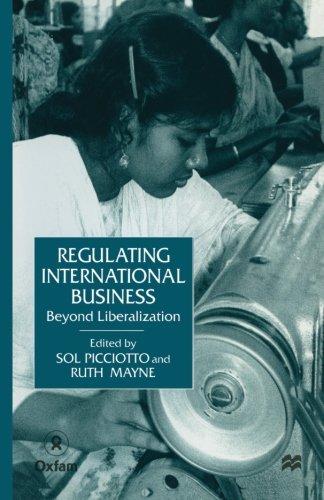 Regulating International Business