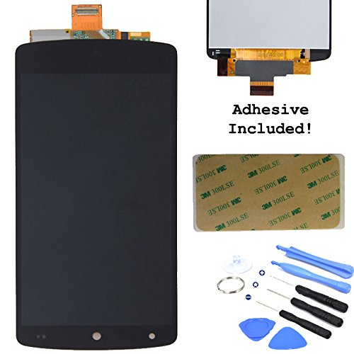 Black Lcd Display Touch Screen Glass Digitizer Assembly For Lg Google Nexus 5 D820 D821