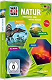DVD Cover 'Was ist Was: Natur - Dinos, Erde, Wetter, Vulkane [4 DVDs]