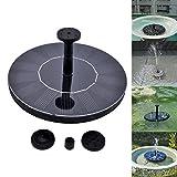 Garten Wasserpumpe,SOONHUA wasserdicht Solarbetriebene Teichpumpe Schwimm Driften Panel-Pool Pond Garden Decor (Pattern 1)