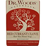 Dr. Woods Naturally Bar Soap Red Currant Clove -- 5.25 Oz