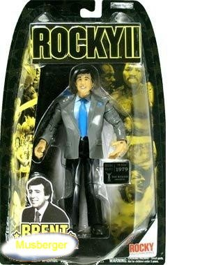 Buy Low Price Jakks Pacific Brent Musberger Announcer Action Figure – Rocky II (B000P8XM5W)