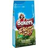 Bakers Complete Tender Meaty Chunks with Tasty Lamb and Country Vegetables Dog Food 5 kg