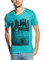 PAUL STRAGAS Camiseta Manga Corta (Verde)