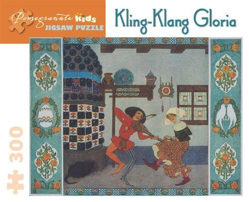 Kling-Klang Gloria Jigsaw Puzzle (Pomegranate Kids)