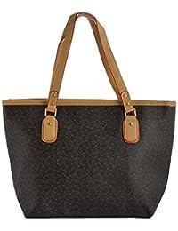 Limit Women's PU Handbag (Black, IDB13)