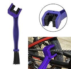 i-Bike Motorcycle Cycle Chain Cleaner Brush Bike Crankset Scrubber Brushes Bicycle Chain Cleaner Wonder Tool (1 pc.)