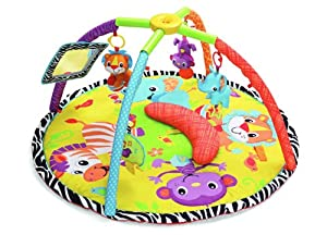 Infantino Twist and Fold Gym, Baby Animals