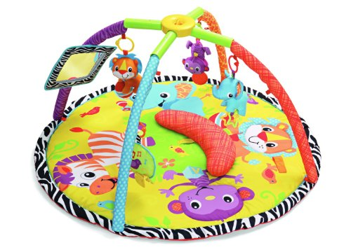 Buy Bargain Infantino Twist and Fold Gym, Baby Animals