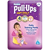 Huggies Pull Ups Nightime Potty Training Pants for Girls - Small (8-15 kg), 14 x 3 Packs (42 Pants)