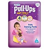 Huggies Night-Time Pull-Ups Disney Princess Design Size 4/Small (15-31 lbs/7-14 kg) Nappies - 3 x Packs of 14 (42 Pants)