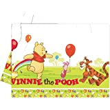 Amscan Disney Winnie The Pooh And Piglet Tablecover