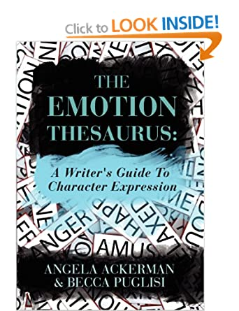 Image: Cover of The Emotion Thesaurus: A Writer's Guide To Character Expression by Angela Ackerman and Becca Puglisi