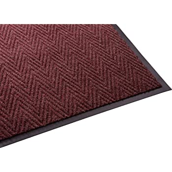 Millennium Mat 64030435CHEV Guardian Golden Series Chevron Indoor Wiper Floor Mat, Vinyl/Polypropylene, 4' Length, 3' Width, Red discount price 2015