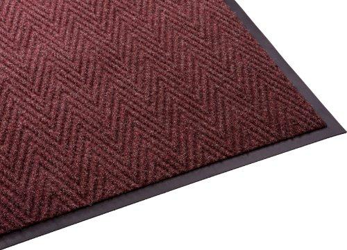 guardian-golden-series-chevron-indoor-wiper-floor-mat-vinyl-polypropylene-4x10-red