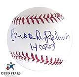 永久欠番 1983年殿堂入り 伝説三塁手 ブルックス・ロビンソン 直筆サイン 入り MLB公式ボール JSA社 筆跡鑑定シリアルナンバー証明書付き シードスターズ証明書付き